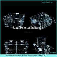 Custom Any Size assembly free clear acrylic fish tank