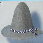 14071711 customized non-woven felt hat for halloween decoration