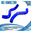 Made in china Tunring car Toyota Air intake blue silicone pipe kits 2 pcs