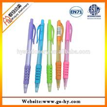 beautiful new designed ball pen cheap plastic pen