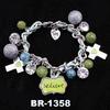2014 Fashion Trends Jewelry Charms Bracelet With Pendant Xmas Bracelet