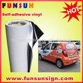 Fuerte blanco claro/pegamento transparente eco de vinilo autoadhesivo película( 120g/140g/160g, de alta calidad)