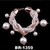 2014 Fashion Trends Jewelry Bracelet With Pendant Xmas Wristband Bangle