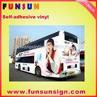 car protection adhesive vinyl /vinyl sticker material (120g/140g/160g ,high quality )