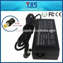Yidashun oem Desktop/Laptop/Tablet pc/Server Application adapter,laptop power adapter,PSU 65w with 19v 3.42a 5.5*2.1 dc tip