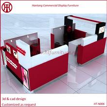LAKA baking paint.Nail kiosk,nail bar furniture,nail salon furniture