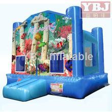 indoor blue cartoon sale cheap bouncy castle