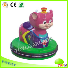 beautiful funny smile cat amusement ride simulator
