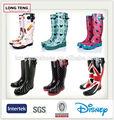 Zapatos de goma para la lluvia para mujeres