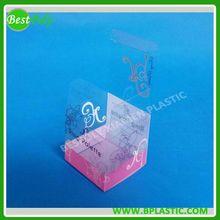 Plastic PET printed cosmetic box