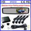Sensor de Estacionamento Con Espelho Retrovisor Y Camara de Reversa