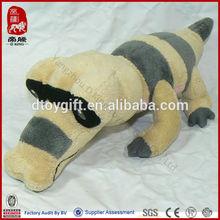 High quality customized toy aquatic toy plush water sea animal soft stuffed toy crocodile