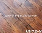 Waterproof laminate floor border HDF