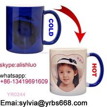 Professional manufacture custom photo frame coffee mug photo mug personalized ceramic photo mug