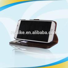 Luxury Flip 2014 designer leather case for samsung galaxy s4 mini i8190