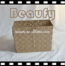 Cheap Promotion Light Brown Polypropylene Storage Box