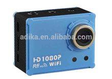 5.0MP HD 1080P waterproof camera Action Aerial diving helmet SPORT CAM WIFI DV AT200