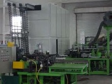 gas-using paper bobbin making machine for yarn