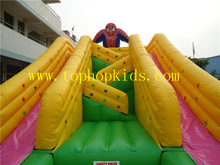 Giant Spiderman Inflatable Water Slide