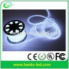 LED rope light( 2wires) led duralight CE, GS, RoHS LED decorative light Christmas light