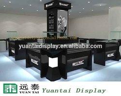 fashion kiosk showcase design jewelry furniture store with glass case