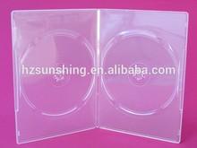 2CD Jewel box multi media storage cd dvd cover