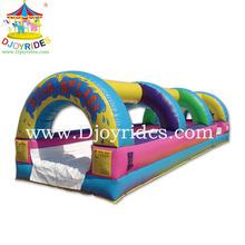 Kids favorite Colorful design inflatable water slides wholesale