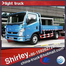 Iveco light truck, 125HP iveco cargo van body,china light truck