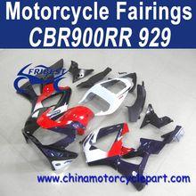 2000-2001 For HONDA CBR900RR 929 Motor Fairing Dark Blue Red FFKHD015