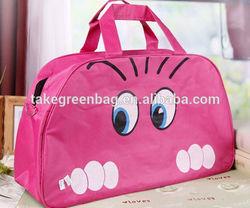 Lovely polyester child travel bag