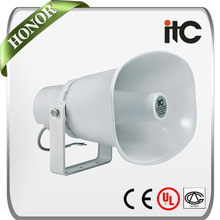 ITC T-720L 30W 15W 7.5W Weatherproof Outdoor Aluminum Horn Loudspeaker for PA System