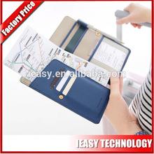Fancy Popular Beautiful Multifunction High Quality Handmade Custom Passport Holder Fashionable Passport Case