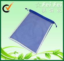 Nylon+Mesh fabric drawstring bags for promotional mesh bags