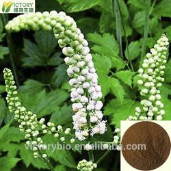 Black Cohosh Extract/ Black Cohosh P.E/Triterpenoid saponins 2.5% 5%,HPLC