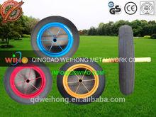 """13""""x3 14""""x4 15""""x4 inch Rubber Solid wheel solid foam wheel wheelbarrow wheel Manufacturer factory"""