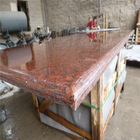 Red wholesale solid surface countertop material