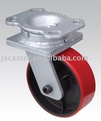 heavy duty caster wheel , industrial swivel plate, cast iron wheel