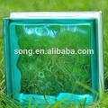 Colorido bloco de vidro
