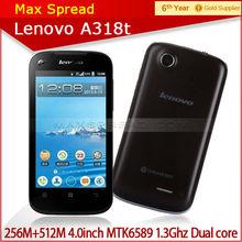 cheap smartphone 4.0 inch lenovo a318t smartphone dual core android lenovo cell phone 3g original
