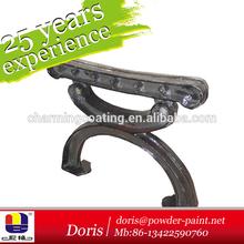 Desk legs powder coating