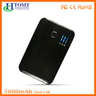 Super fast 5V 2.1A USB mobile charger 5000mah cute portable phone charger for smartphone ipad charger