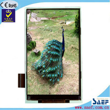 4.3'' cell phone small price tv tft lcd display Portrait type 480*800 IPS TYPE TFT without Touch Panel