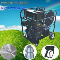 2014 gasoline engine drived high pressure water jet floor cleaning machine floor cleaning machine price