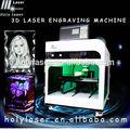 vidro acrílico cristal 3d cristal laser máquina de gravura preço de personalização