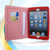 pu leather smart case cover for ipad mini ,factory price oem