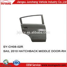China Factory/Manufacturer Car Rear Door for Chevrolet New Sail 2010 Hatchback