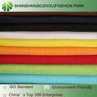 Shanshan 100% cotton 1*1 knitted rib fabric ,china supplier