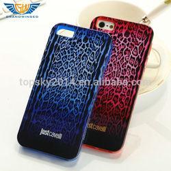 IMD In-Mole Decoratiom Leopard Pattern TPU Phone Case Cover For iPhone 5 5S 4 4S accessories