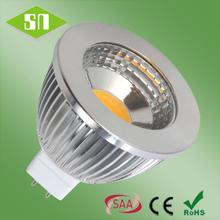 led residential lighting 12v warm white 5w mini led cob spot DIM