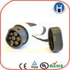 IEC European standards electric car plug iec62196-2 16a three phase